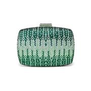 26 geekbuy CAIYUE Women Handbag Wedding Party Evening Envelope Clutch Bag Wallet Purse Messenger Phone - Green