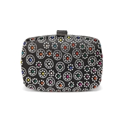 27 geekbuy Women Evening Bag Ladies Party Clutches Wallet Purse Phone Bag-Black