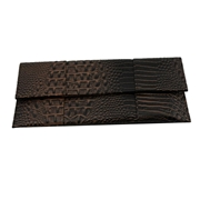22 geekbuy Womens Bag PU Leather Evening Clutches Bag-Brown