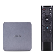 27 geekbuy SCISHION AI ONE RK3328 Android 8.1 4GB/32GB 4K TV Box with LED Display WIFI Bluetooth USB3.0 Media Player