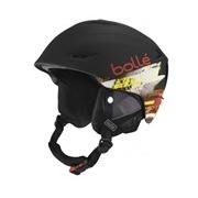 Bolle Sharp Soft Black and Red 54-58cm Sharp Ski Helmet