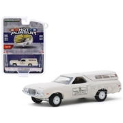 Greenlight 1972 Ford Ranchero with Canopy Cream Animal Protection Division of Police Henrico County Virginia Hot Pursuit Series 34 1/64 Diecast Model Car