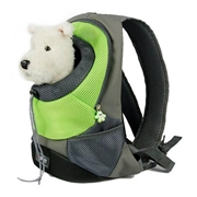 22 geekbuy Pet Carrier Backpack Puppy Handbag Sided Bag Large Size - Green