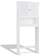Costway Bathroom Space Saver Toilet Shelves Storage Cabinet