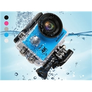 jClub com Kocaso 4K 30fps 170 Lens Action Camera   Waterproof Case