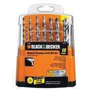 Black+decker 18 pc. Drill Bit Set
