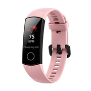 25 geekbuy HUAWEI Honor Band 4 Smart Bracelet 0.95 Inch AMOLED Touch Large Color Screen 5ATM Heart Rate Monitor Swimming Posture Recognition - Pink