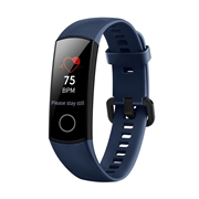 24 geekbuy HUAWEI Honor Band 4 Smart Bracelet 0.95 Inch AMOLED Touch Large Color Screen 5ATM Heart Rate Monitor Swimming Posture Recognition - Blue