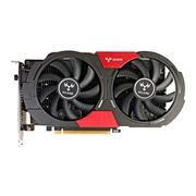 32 geekbuy Colorful iGame GTX1050Ti Vulcan U 4G EC Video Graphics Card 1290-1379MHz 4GB GDDR5 7Gbps/128Bit DP+HDMI+DVI - Black
