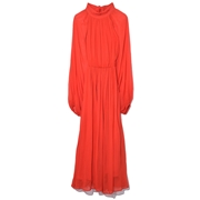 Rhode Resort Mai Dress in Crimson Red