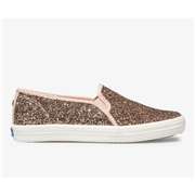 Keds x kate spade new york Double Decker Glitter. Rose Pink, Size 5m Womens Shoes