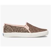 Keds x kate spade new york Double Decker Glitter. Rose Pink, Size 6m Womens Shoes
