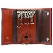 Bosca Old Lea Col 6 Hook Key Case Dark Brown