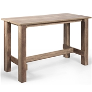 Costway Living Room Rectangular Dining Table