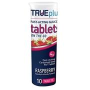 Trividia Health TRUEplus Glucose Tablets 10 ct- Raspberry