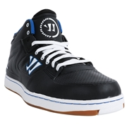 Warrior Hound Dog 2.0 Adult Shoes - Black/Blue; 14.0