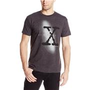The X-Files TV Show Logo T-Shirt - Charcoal - S