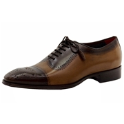 Mezlan Men s Serrano Leather Spectator Oxfords Shoes