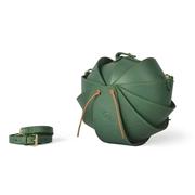 ApolloBox Leather Ball Handbag