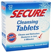 SECURE Cleansing Tablets - 32ct