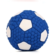 16 geekbuy Pet Dog Treat Ball Toy Chew Football Latex Tooth Cleaning Dental Non-Toxic Bite Resistant