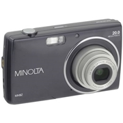 Minolta 20MP HD 5x Zoom Digital Camera Kit - MN5Z-BK, Color: Black