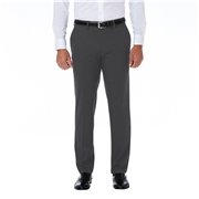 Haggar J.M. Haggar Premium Stretch Shadow Check Suit Pant Black / Charcoal Size - XL