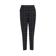 Dorothy Perkins *Maternity Black Check Print Grid Ankle Grazer Trousers