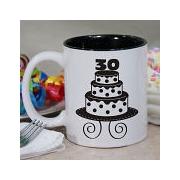 www giftsforyounow com Personalized Birthday Cake Coffee Mug
