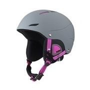 Bolle Juliet Soft Grey and Pink 52-54cm Ski Helmet
