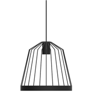 Fferrone Design Bird Cage LED Pendant - Shape A Telegraph Gray