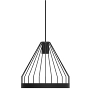 Fferrone Design Bird Cage LED Pendant - Shape B Black