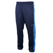 Nike KO Poly Fleece Mens Pants; XX-Large; Heather Grey/Black