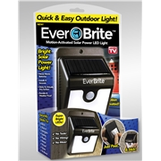 As Seen On TV Ever Brite Motion-Activated Solar Powered LED Light