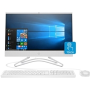 HP 21.5 Touch Intel i3 4GB Memory 1TB Hard Drive Windows 10 All-in-One Desktop Computer - White, 22C0030