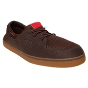 Warrior Coxswain Mens Shoes - Brown/Gum Rubber; 7.0