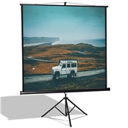 Costway 84 Tripod Floor Stand Manual Pull up Projection Screen