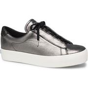 Keds Rise Metro Glitter Leather Black, Size 9m Womens Shoes