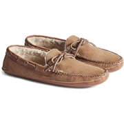 Mens Sperry Gold Cup Handcrafted in Maine Slipper Tan, Size 7.5M