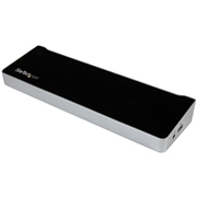StarTech Triple-4K Monitor USB-C Docking Station for Laptops - 60W USB Power Delivery