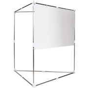 Costway 80 16:9 HD Triangle Stand Portable Projector Screen w/ Carry bag