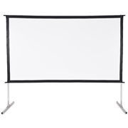 Costway 120 16:9 Home Front Portable Foldaway Projector Screen