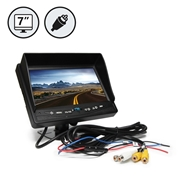 7 LED Digital Color Rear View Monitor with RCA Connections