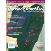 Creative Machine Embroidery Magazine Subscription, 4 Issues, Sewing   Needlework magazines.com
