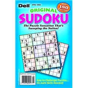 Dell Original Sudoku Magazine Subscription, 8 Issues, Puzzles   Games magazines.com