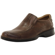 Clarks Mens Escalade Step Loafers Shoes - Brown - 11 D M US