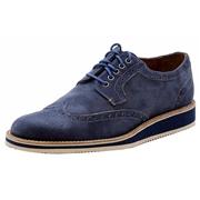 Donald J Pliner Mens Evex Fashion Oxfords Shoes - Blue - 8.5