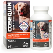 Cosequin DS PLUS MSM 60 chewable tablets