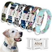ApolloBox Personalized Nylon Dog Collar