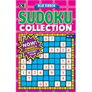 Blue Ribbon Sudoku Collection Magazine Subscription, 12 Issues, Puzzles   Games magazines.com